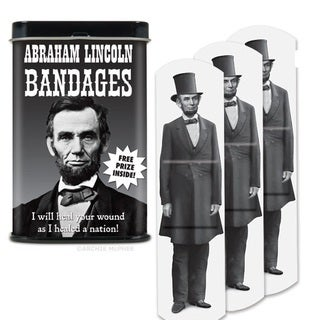 Abraham Lincoln Band-aids
