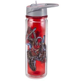 Marvel Deadpool Tritan Double Wall Water Bottle