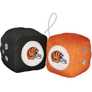 NFL Cincinnati Bengals Logo Fuzzy Dice