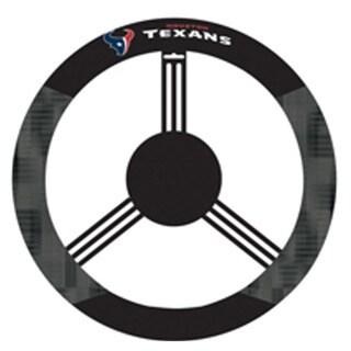 Houston Texans Logo Poly Mesh New Wheel Cover