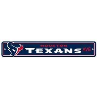 Houston Texans Ave Street Sign