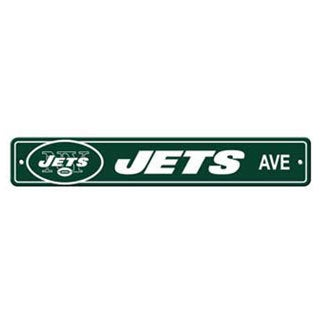 New York Jets Ave Street Sign