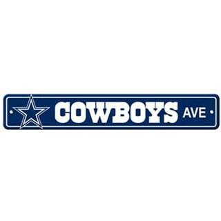Dallas Cowboys Ave Street Sign
