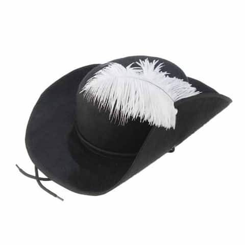 Three Musketeers/ Pirate Feather Cap