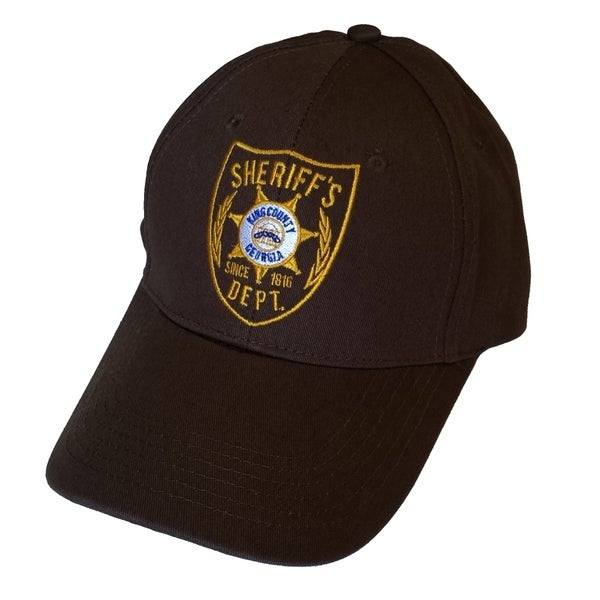88c0c1bf5f9a8 Shop Brown Atlanta Georgia Sheriff Hat - Free Shipping On Orders Over  45 -  Overstock - 10292947