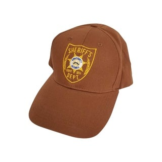 Brown Atlanta Georgia Sheriff Hat