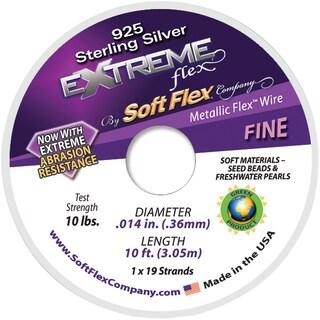 Extreme Flex Wire 19 Strand .014inX10' Silver
