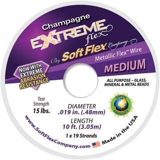 Extreme Flex Wire 19 Strand .019inX10' Champagne