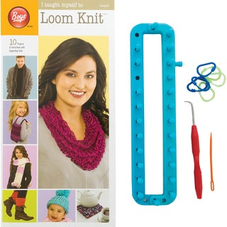 I Taught Myself To Loom Knit