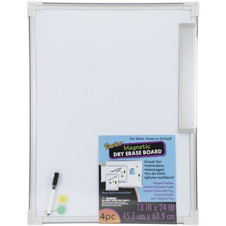 Magnetic Dry Erase Board 18inX24in