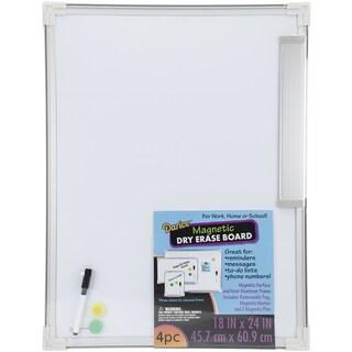 Magnetic Dry Erase Board 18inX24in