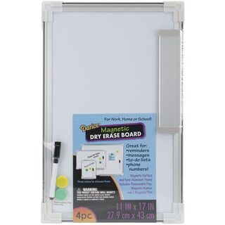Magnetic Dry Erase Board 11inX17in