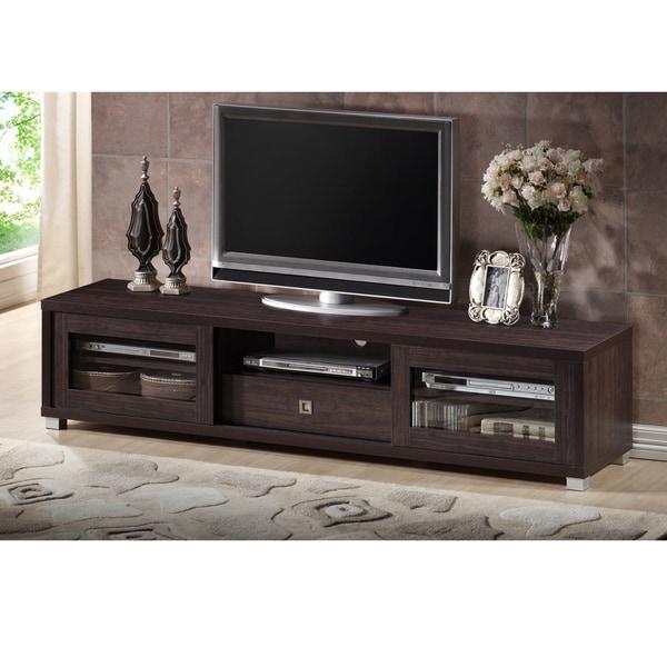 Porch & Den Fiesta 70-inch Dark Brown TV Cabinet. Opens flyout.