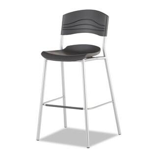 Iceberg CaféWorks Graphite/Silver Bistro Stool