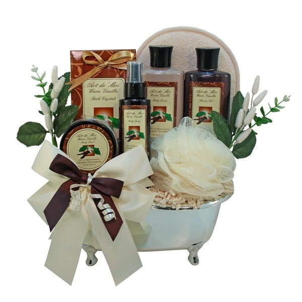 Indulgence Spa Bath and Body Gift Basket Set
