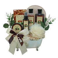 Vanilla Indulgence Spa Bath and Body Gift Basket Set