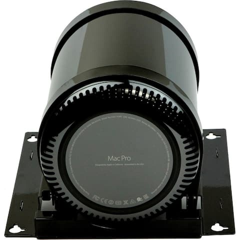 Rocstor Rocmount Pro-M DM Desk or Wall Mounting Kit is for a Single Mac Pro Computer - Mount a single Mac Pro under or asi