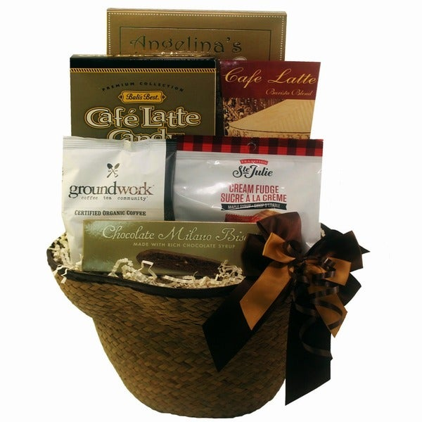 Espresso Yourself Coffee Lovers Gift Basket