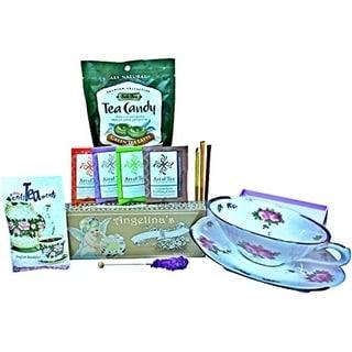 Tea Time Tea Cup Shaped Gift Basket