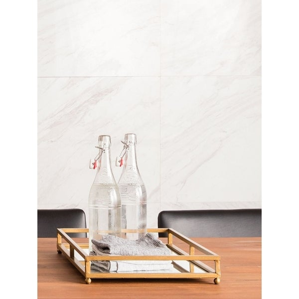 Aurelle Home Tuil Rectangle Tray (Set of 2)
