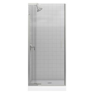 Kohler Purist 33 inches x 72 inches Frameless Pivot Shower Door with Clear Glass