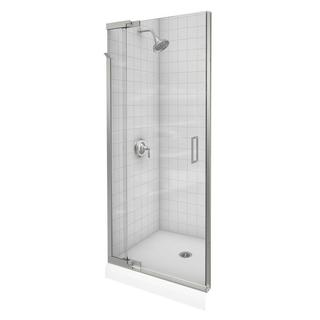 Kohler Purist 36 inches x 72 inches Frameless Pivot Shower Door with Clear Glass
