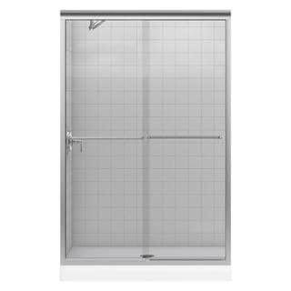 Kohler Fluence 47-5/8 inches x 70-5/16 inches Frameless Bypass Shower Door