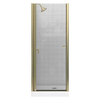 Kohler Fluence 30-1/4 inches x 65-1/2 inches Frameless Pivot Shower Door with Clear Glass