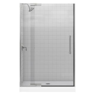 Kohler Purist 47-3/4 inches x 72-1/4 inches Frameless Pivot Shower Door