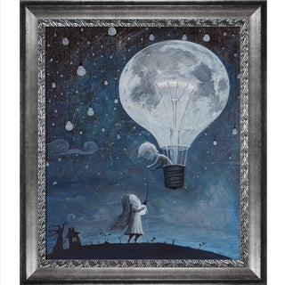 Adrian Borda 'He Gave Me The Brightest Star' Framed Fine Art Print