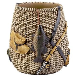 Rather Be Fishing Wastebasket