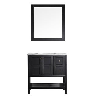 """Florence 36"""" Single Vanity with Mirror"""