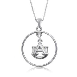 Auburn Sterling Silver Open Drop Necklace