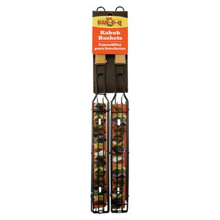 Mr. Bar-B-Q Kabob Basket 2-Pack