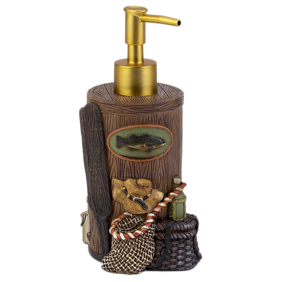 Avanti Rather Be Fishing Lotion Pump (Multi) (Resin, Anim...