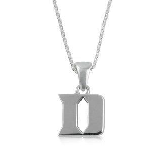 Duke Sterling Silver Charm Necklace