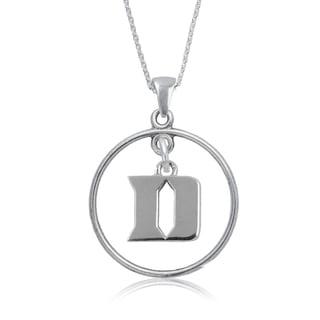 Duke Sterling Silver Open Drop Necklace