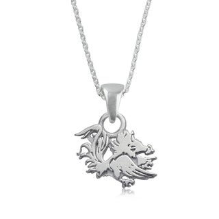 South Carolina Sterling Silver Charm Necklace