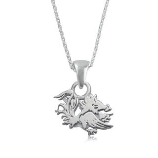 South Carolina Sterling Silver Charm Necklace