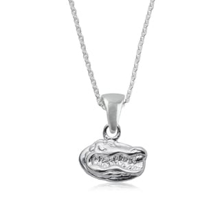 Florida Sterling Silver Charm Necklace