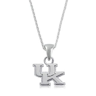 Kentucky Sterling Silver Charm Necklace