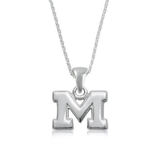 Michigan Sterling Silver Charm Necklace