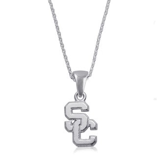 USC Sterling Silver Charm Necklace