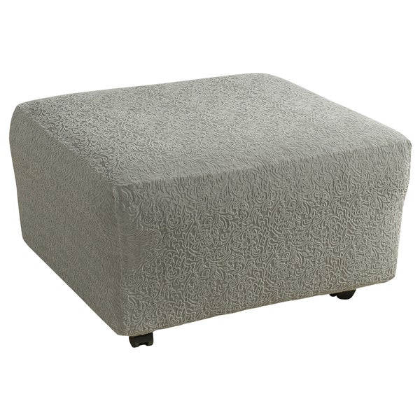 Sure Fit Stretch Ava Ottoman Slipcover - Free Shipping On ...