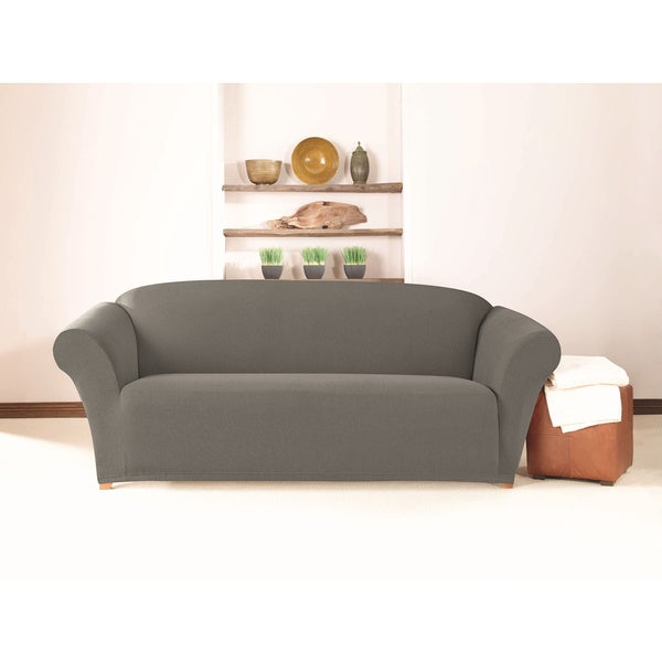 Sure Fit Simple Stretch Twill One Piece Sofa Slipcover