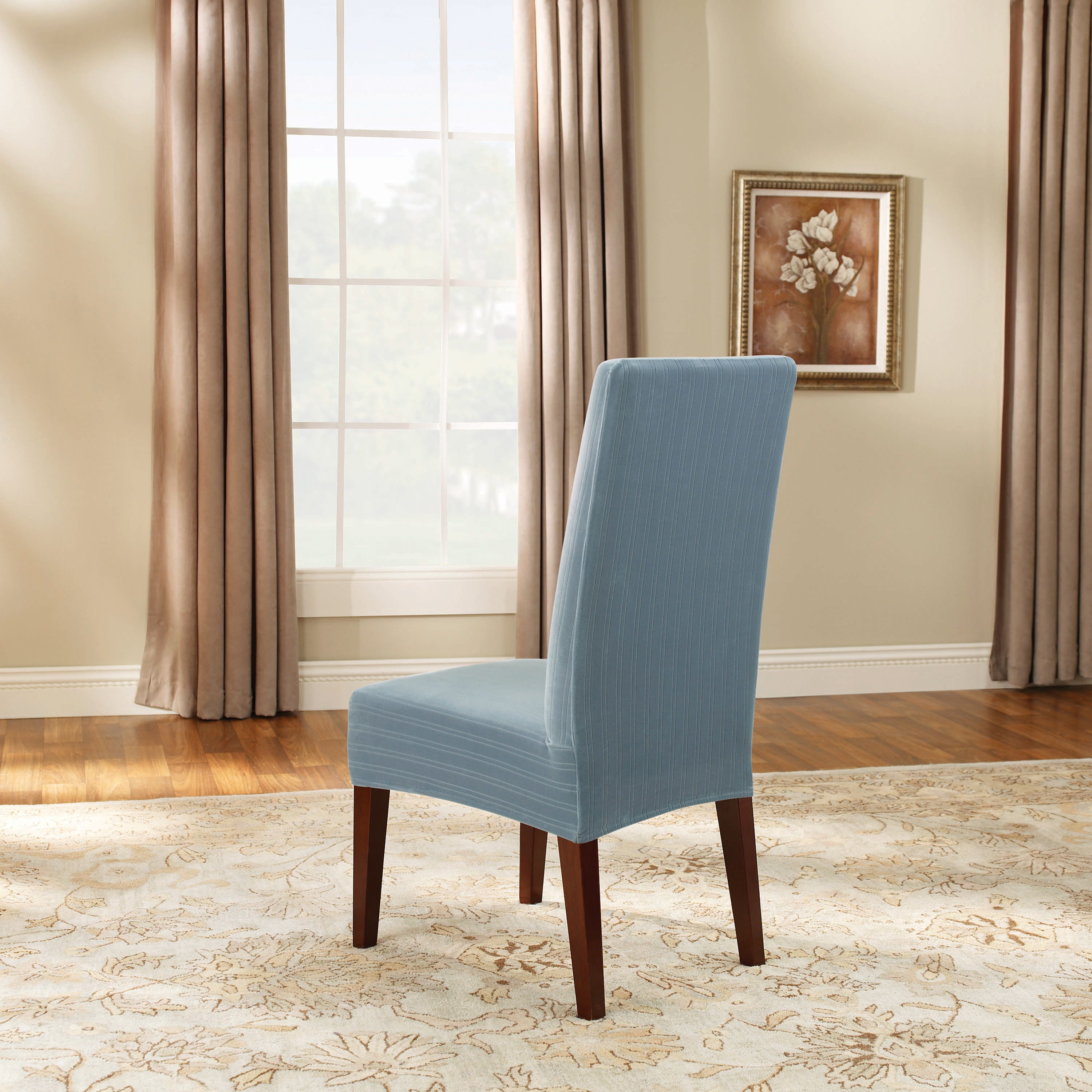 Sure Fit Pique Dining Chair Slipcover - Dining room ideas