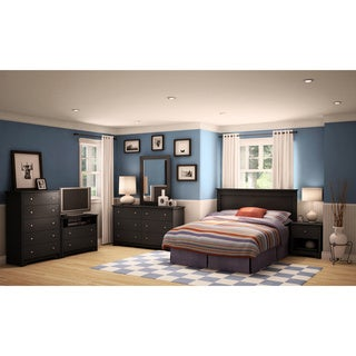 South Shore Vito Queen Bookcase Headboard