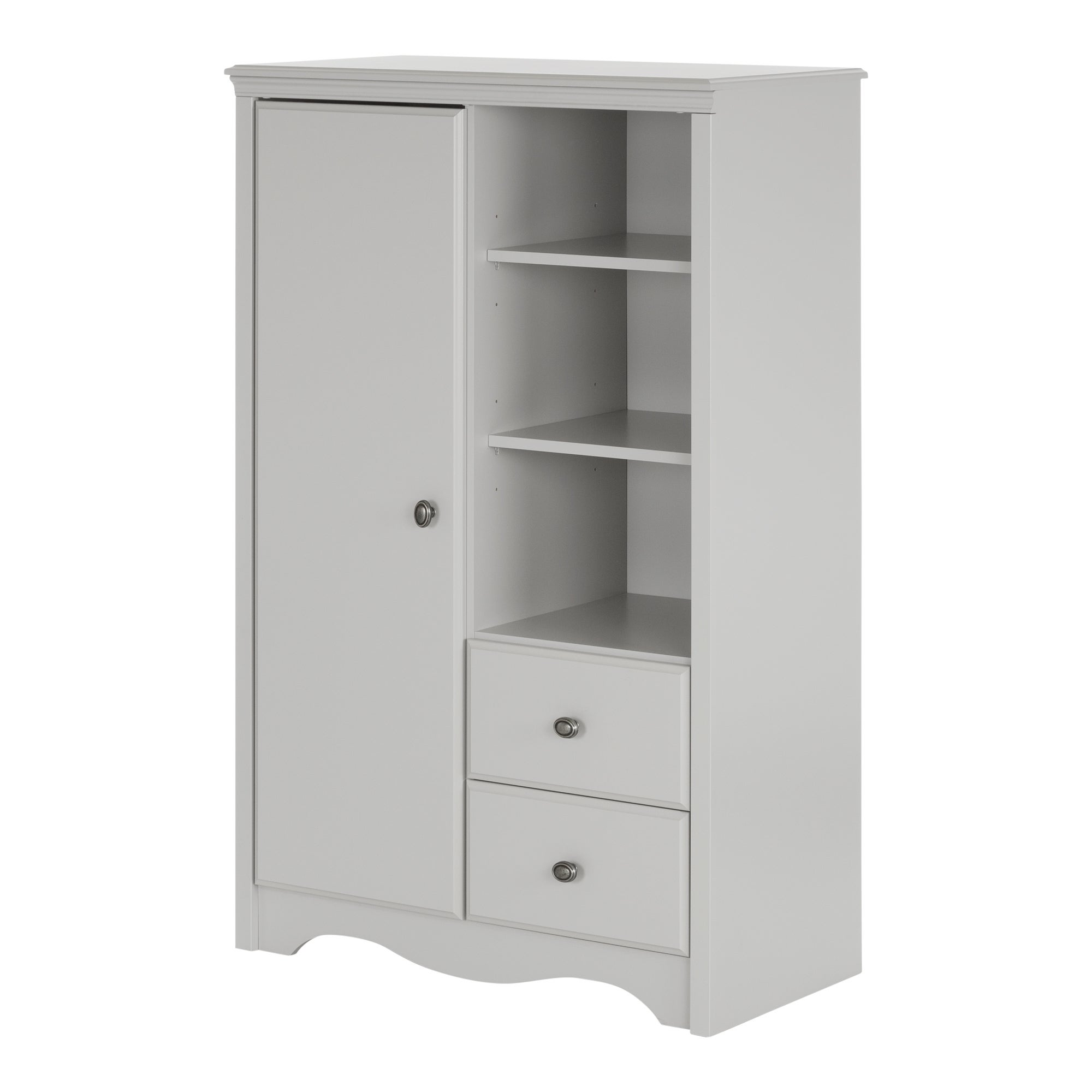 South Shore Sweet Morning Armoire With Drawers