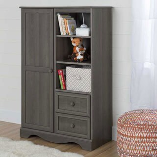 Savannah Collection Armoire (Option: Brown)