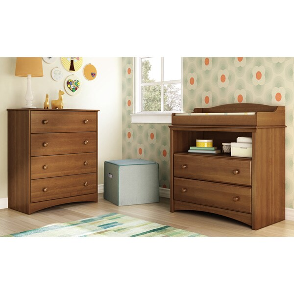 Marvelous South Shore Angel Changing Table   Free Shipping Today   Overstock.com    17409971